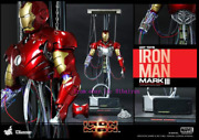 Hot Toys Ds 003 Iron Man Mark Iii 3 1/6th Action Figure Construction Version