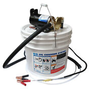 Jabsco Porta Oil Change Impeller Pump With Bucket And Leads