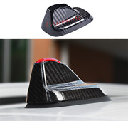 Real Carbon Fiber Roof Shark Fin Antenna Cover For Mini Cooper Countryman F60