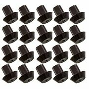 20-pack Of Viking Range - Compatible Grate Rubber Feet Bumpers - Heat-resista...