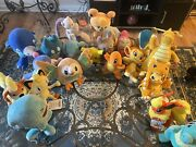 Pokandeacutemon Plush Lot. 20 For 135 Mix And Match More On Account.