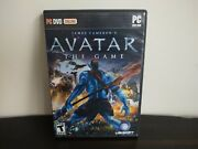 James Cameron's Avatar The Game Pc Dvd-rom Ubisoft 2009 Complete In Box W Key