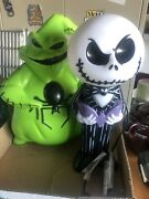 Sold Out Jack Skellington Blow Molds Oogie Boogie Nightmare Before Christmas