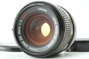 Rare O 【n Mint+++】 Canon Fd 35mm F/2 S.s.c. Ssc Mf Wide Angle Lens From Japan