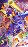 Alex Ross 75th Anniversary The History Of Batman Giclee On Paper