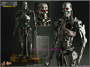 Hot Toys Mms094 Terminator Salvation - 1/6th T700 Endoskeleton Action Figure Toy