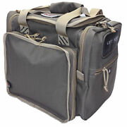 G-outdoors Large Range Ammo Bag W/ Id Storage Soft Carry Top Opening Green Tan