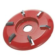 Six-tooth Power Wood Carving Disc Tool Milling Cutter For 16mm Aperture Angle
