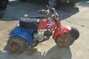 1985 Honda Atc 70 With Extra Frame And Partial Engine Sold As Is Restoration