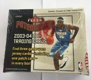 2003 04 Fleer Patchworks Factory Sealed Basketball Box Hobby Autos Rubyand039s