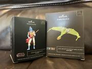 Hallmark Sdcc Star Wars And Star Trek Animated Ornaments From 2021 Sdcc