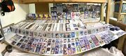 Entire Baseball Card Collection 50000 Cards Rookies Sp Autos Relics Topps
