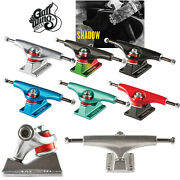 Gullwing Skateboard Trucks Shadow Pair - Choose Color And Size