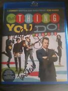 That Thing You Do Blu-ray Disc Autographed By The Wonders
