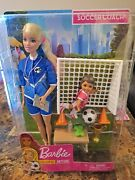 Barbie Doll Soccer Coach You Can Be Anything
