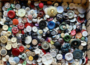 Buttons Huge Lot Twelve Pounds Vintage Sewing Buttons 12lb Awesome Mix 12pde