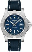 Brand New Breitling Avenger Automatic 43 Blue Dial Menand039s Watch A17318101c1x1