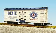 Usa Trains 16396 G Dixie Brewing Dixie Light Beer Wood Ice Reefer Car