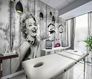 3d Marilyn Monroe Zhua16290 Wallpaper Wall Murals Removable Self-adhesive Amy