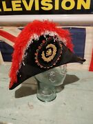 1880's Patriarchs Militant Ioof Odd Fellows M.c. Lilley And Co. Beaver Pelt Hat