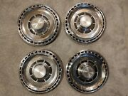 Vintage 1969 Chevy Chevelle Chevrolet Motor Division Hub Caps Set Of 4 Nice