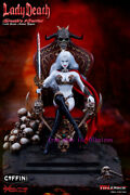 Tbleague Pl2017-104-a 1/6 Lady Death 2.0 With Base And Throne Deluxe Ver Action