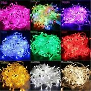 Waterproof Christmas Lights Fairy String Holiday Decoration Led 100m 600led
