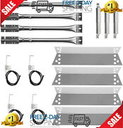 Kenmore Sears Grill Parts Replacement Kit Heat Plate Shield And Gas Burners Tube