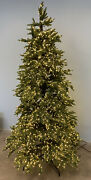 Balsam Hill Silverado Slim 7 Foot Tree With 3mm Led Micro Lights 1699 Read Open