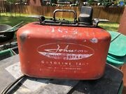 Vintage Johnson Omc Mile Master 4-gallon Metal Boat Gas Can For Display Or Use