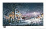 Terry Redlin Winter Wonderland Numbered Only Limited Edition