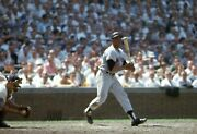 Willie Mays 1963 Original Photo Color Negative 35mm S.f. Giants Hitting Wrigley