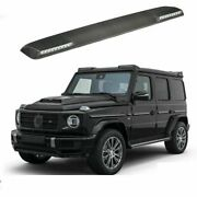 G Wagon Brabus 2020 Style Carbon Fiber Front Roof Spoiler Led Drl For Mercedes
