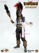 Hot Toys Mms057 Pirates Of The Caribbea - 1/6 Cannibal King Jack Sparrow Action