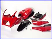 Kawasaki Gpz900rand03996 Frp Upper Cowl/genuine Tank Front Fender Side Covers Tail