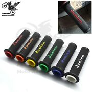 7 Colors Available Universal Racing Moto Handle Grips Cafe Racer Motorbile Parts