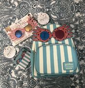 Rare Luna Lovegood Loungefly Bundle Backpack Cardholder And Spectacles