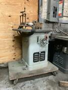 Rockwell Heavy Duty 2 Hp Wood Shaper - 115 Volts Or 208 Excellent