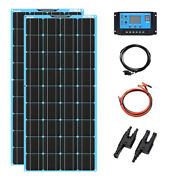 Solar Panel Powered Complete Kit Battery Energia Off Grid 120w System For Home
