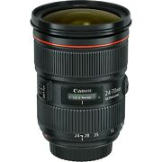 Canon Ef 24-70mm F/2.8l Ii Usm Lens New In Stock