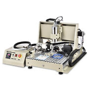 3d Usb 4 Axis 6040 Cnc Router Engraver Vfd Pcb Milling Driiling Machine 1.5kw