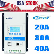 40a 30a 20a Epever Mppt Solar Charge Controller Regulator Accessory Or Mt50/wifi