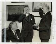 1938 Press Photo President Roosevelt, Harry Hopkins, Stanley Reed In Dc