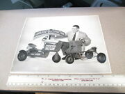Amf 1955 Pedal Car Tractor Vintage Toy Photo 1,000,00th Amf Tractor Salesman