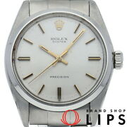 Rolex Oyster Precision Antique Menand039s Watch 6426 2 Ss S