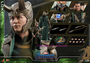Perfect Hot Toys - Mms579 Avengers Endgame -1/6th Scale Loki 4.0 Action Figure