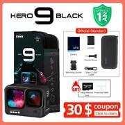 Gopro Hero9 Black Waterproof Action Camera Front Lcd Touch Screens 5k Ultra Hd 2