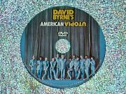 David Byrneand039s American Utopia Dvd 2020 Region 1 For All Usa + Canada Dvd Players