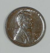 1917-d Lincoln/wheat Ears Reverse Cent Nice Brown Unc 1c