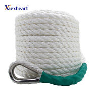 New White Twisted Boat Marine Anchor Line Dock Anchor/mooring Rope 31m X 10mm